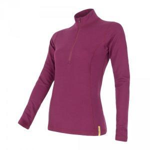 2afd5f1b32a0 Dámske termo tričko s dlhým rukávom. Sensor Double face Merino Wool LS Zip-L