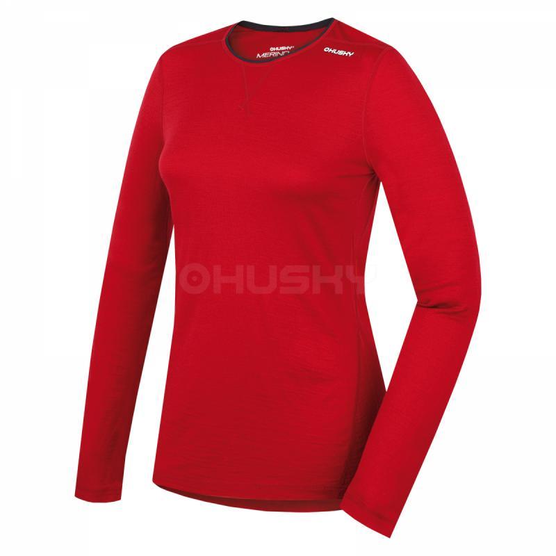 8a7bc6584aea Husky Merino tričko - dlhý rukáv L