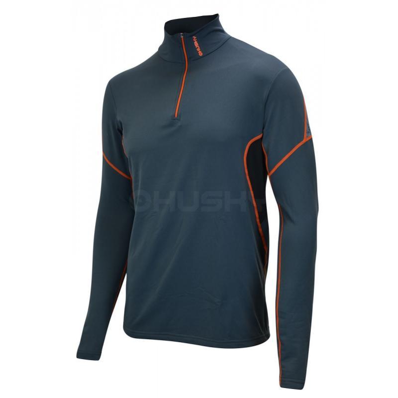 040b496e0 Pánske termo tričko s dlhým rukávom a zipsom. Husky Active winter M long zip